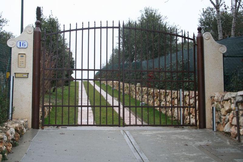 Mobili lavelli cancello in ferro for Bricoman cancelli
